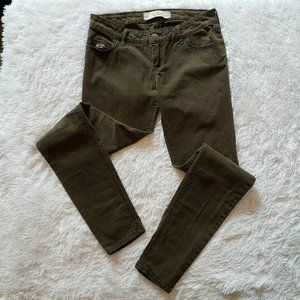 Hollister Jeans, Army Green, Size 3 / W 26